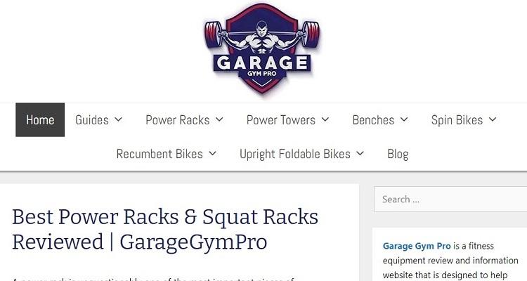 GarageGymPro - Vücut geliştirmeye odaklanan niş bir site Flippa'da 110,000 dolara satıldı