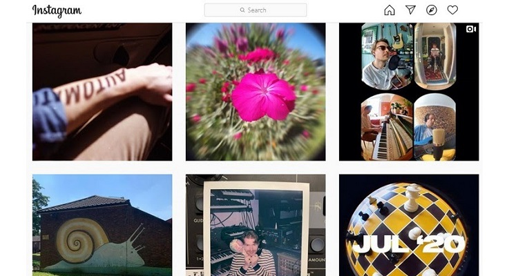 Instagram is build using Django
