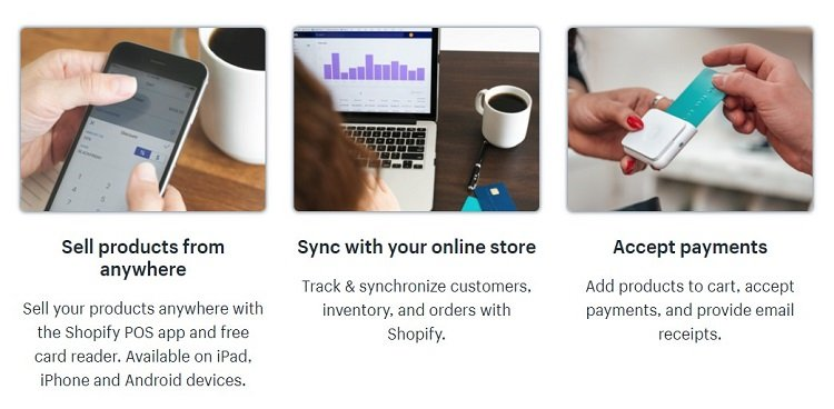 Shopify has a formidable POS system that lets you integrate digital with physical sales.