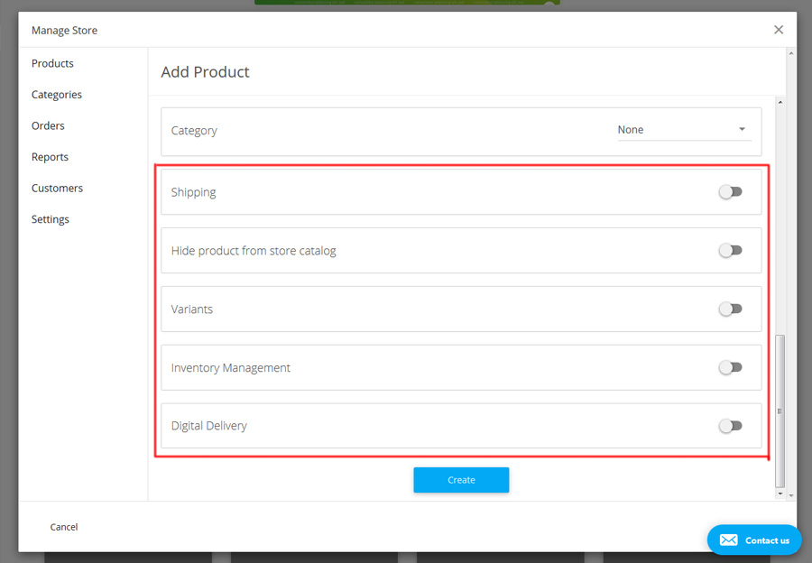Add more features to a new product.