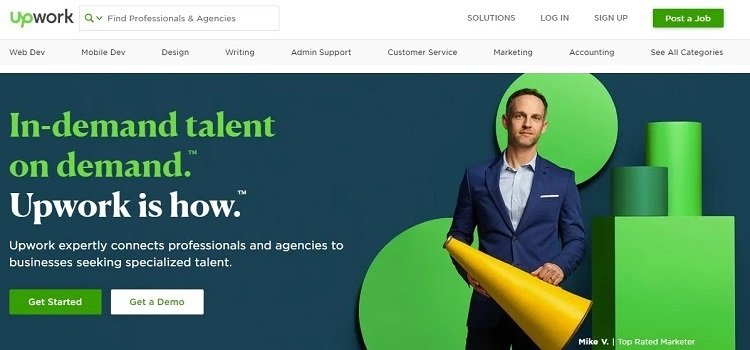 Upwork - Alternative to Fiverr