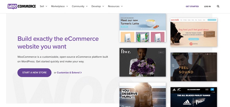 WooCommerce shopping cart