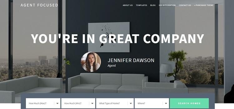 Agent-Focused - Studiopress Real Estate WordPress Theme