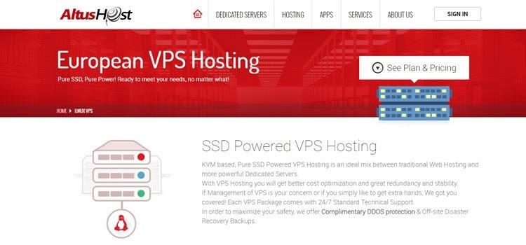 AltusHost VPS Hosting