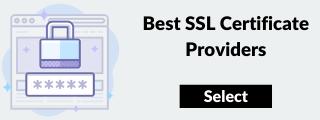 சிறந்த வழங்குநர்களிடமிருந்து SSL ஐ வாங்கவும்