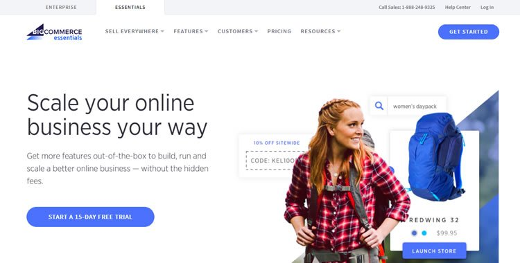 BigCommerce Online Store Builder - Essential Plan