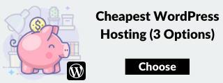Trova l'hosting WordPress più economico