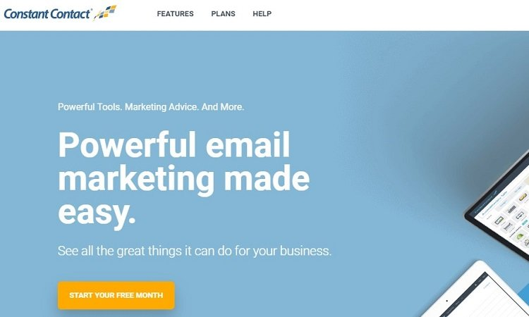 ConstantContact email marketing software - click here to try for free