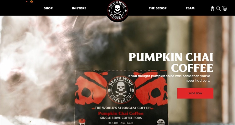 Death Wish Coffee - Shopify success story