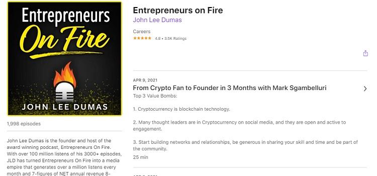 Business Podcast - Entrepreneurs on Fire