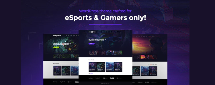 eSport mobile game template