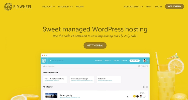 Hosting wordpress gestito da volano