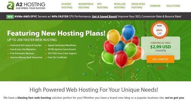 L'hosting A2 è molto più avanti nel campo del supporto per gli sviluppatori rispetto a GoDaddy.
