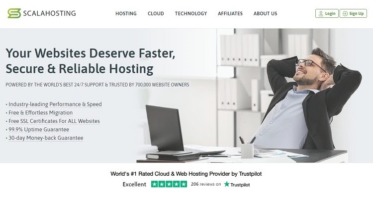 To move away from GoDady cPanel hosting, ScalaHosting's Cloud VPS is a fantastic option.