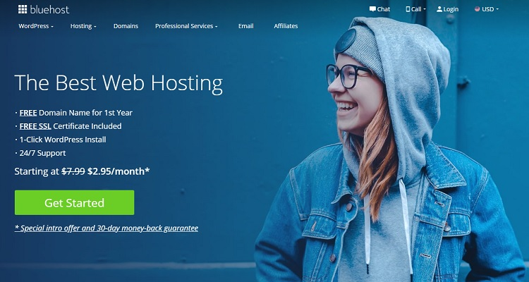 Bluehost is an ideal alternative for those who are venturing into the WordPress environment.