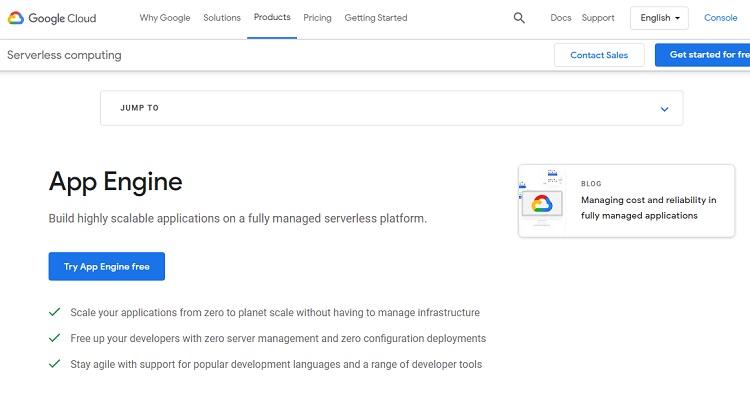 5. Google App Engine - PaaS example