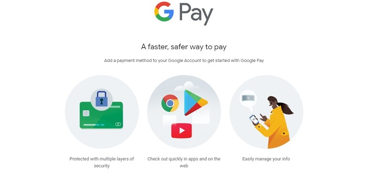 Alternativas a Paypal - Google Pay