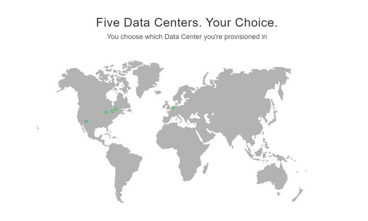 GreenGeeks性能评估-服务器位置一目了然