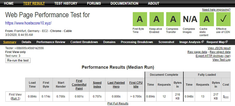 GreenGeeks performance review -