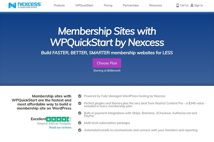 Membership Site Platforms - Nexcess
