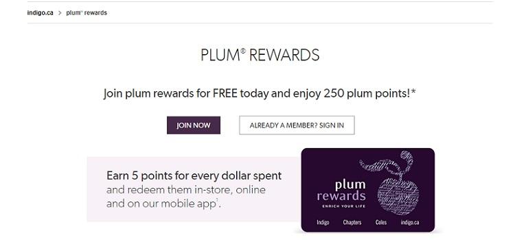 Indigo's Plum Rewards