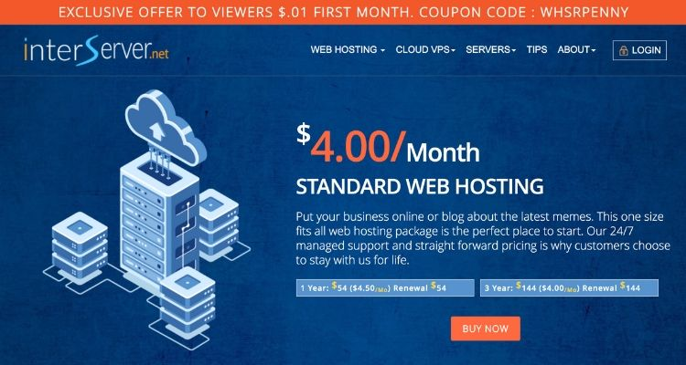Interserver Coupon Code Internet Technology News