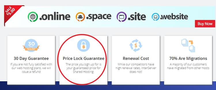 Política de bloqueo de precios entre servidores