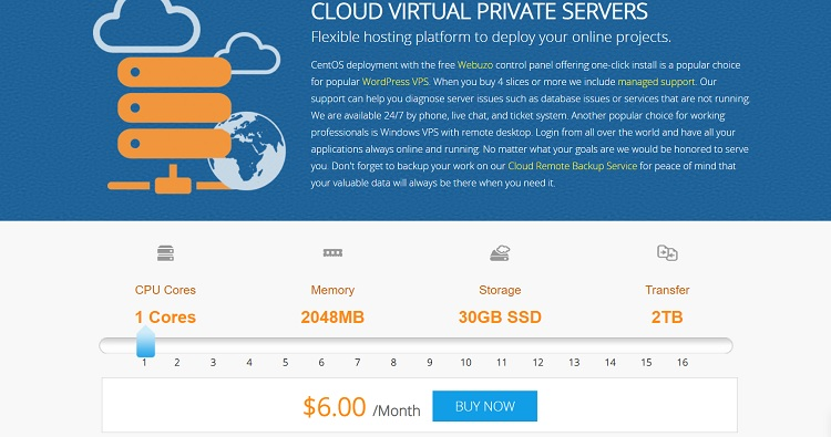 Interserver VPS es una alternativa a Cloudways