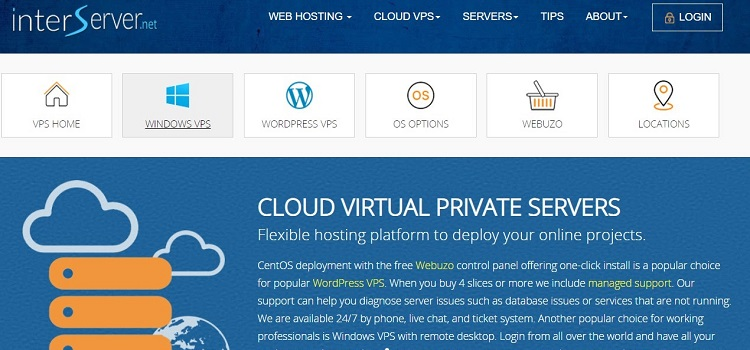 Interserver VPS-Hosting