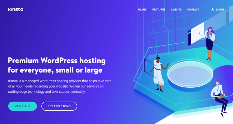 Kinsta cloud hosting services