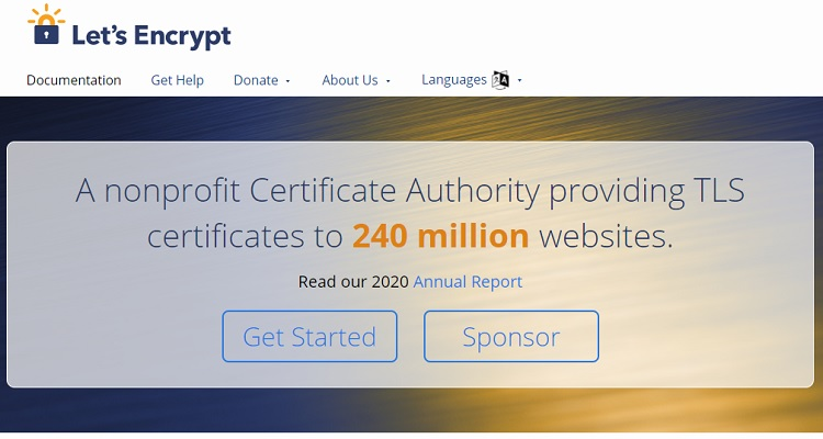 Let's Encrypt SSL - The most famous free SSL provider in the market.
