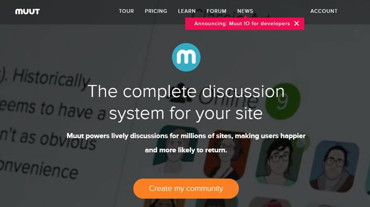 Forum Platform Tool - Muut