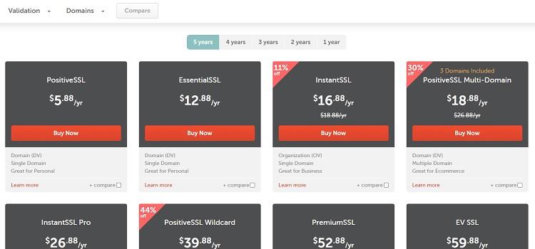Namecheap SSL - SSL cơ bản giá rẻ cho các blogger và SMB cá nhân