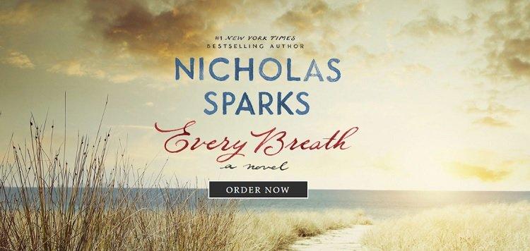 Situs web portofolio Nicholas Sparks