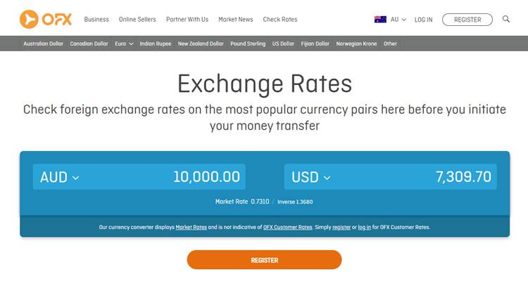 OFX Exchange Rates