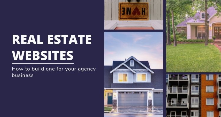 Build a website for your real estate agency