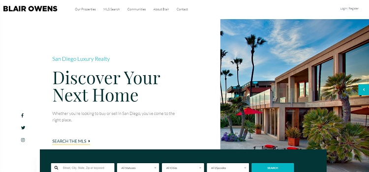 Real estate 7 responsive real estate WordPress theme