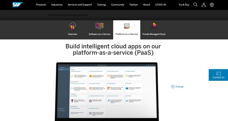 SAP Cloud-Paas示例