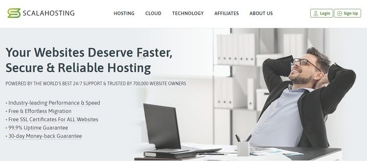 ScalaHosting - Budget choice for Bulgarian websites