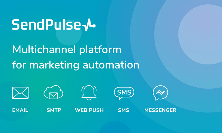 SendPulse email marketing software - click here to try for free