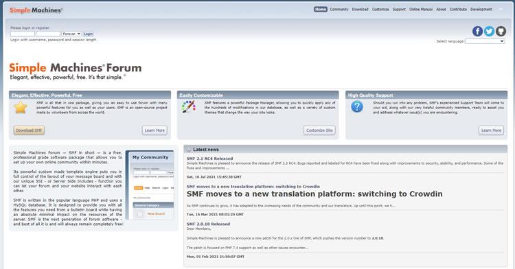 Forum Platform Tool - SMF
