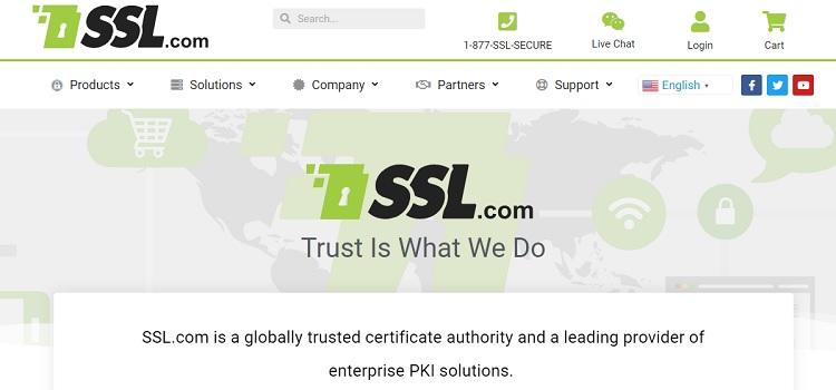 SSL.com - Cheap SSL, TLD, and digital certificates provider