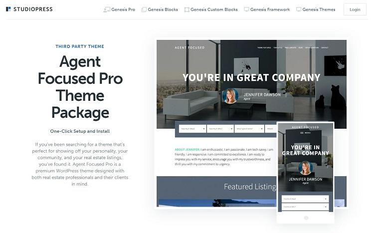 StudioPress - Real Estate Agency Template