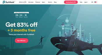Offerte del Black Friday 2020 di SurfShark