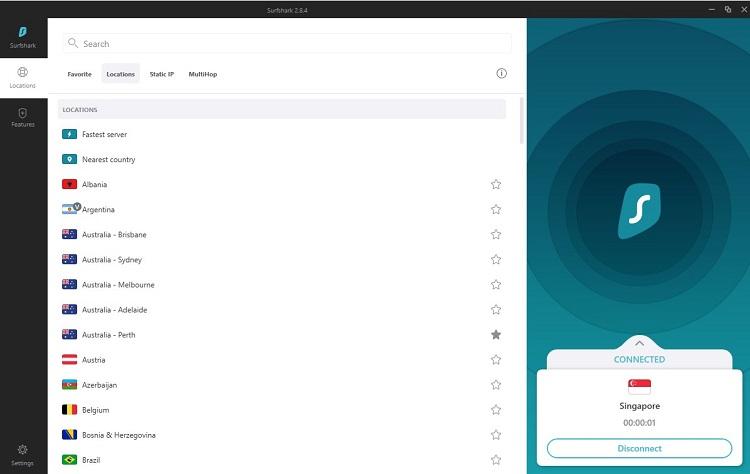 Surfshark - best VPN for multiple devices