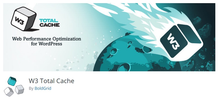 W3 totale cache WordPress plugin