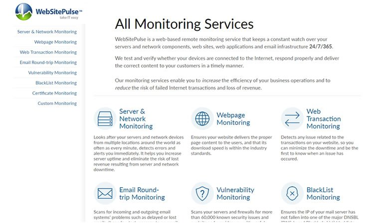 Monitoring your website performance