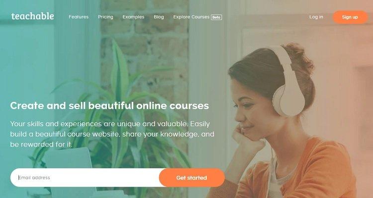 สอนออนไลน์และสร้างรายได้จากที่บ้าน ตัวอย่าง - สอนได้