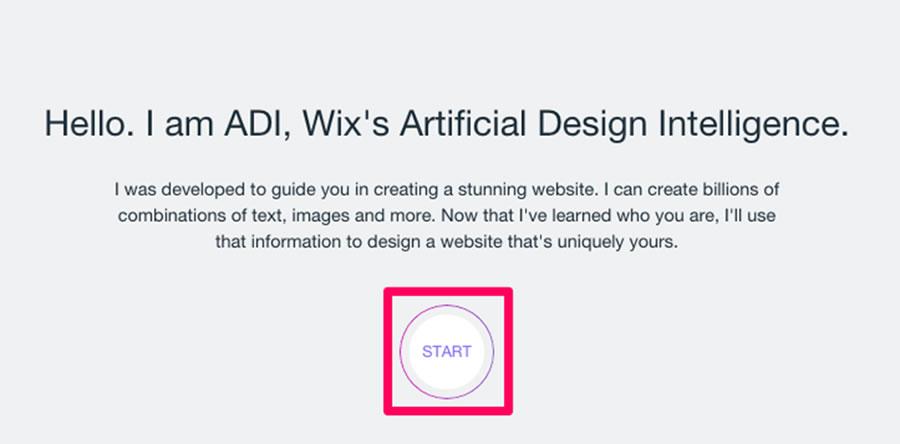 Click on 'Start'.
