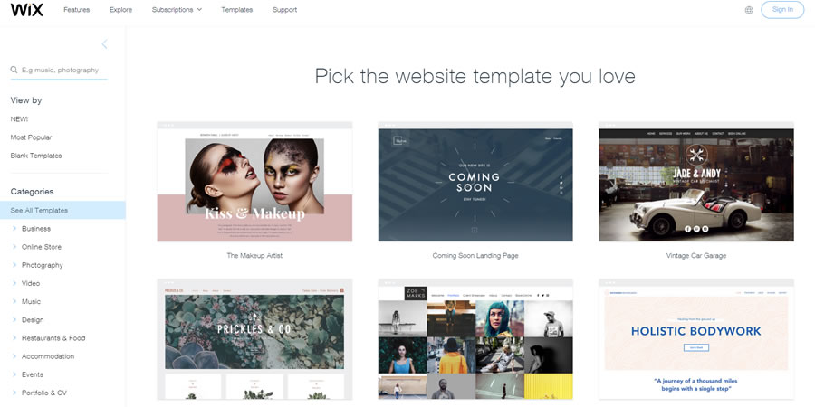 wix-template